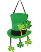 """St. Patrick's Day Door Decor Size: 15"""" x 30"""""""