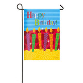 Happy Birthday Garden Flag