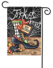 Halloween outdoor garden flag
