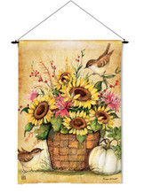 Garden flag and garden flag dowel (sold as s set)