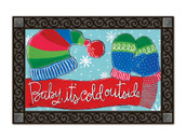 Baby It's Cold MatMates Doormat - Tray Sold Separately