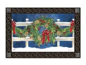 Winter Wreath MatMates Doormat - Tray Sold Separately