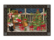 Santa's Porch MatMates Doormat - Tray Sold Separately