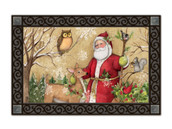 Woodland Santa MatMates Doormat - Tray Sold Separately