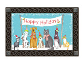 Pet Holiday MatMates Doormat - Tray Sold Separately
