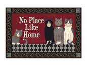Kitties at Home MatMates Doormat - Tray Sold Separately
