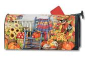 Mailbox Cover Autumn Porch