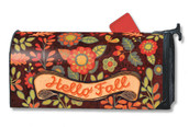 Hello Fall Magnetic Mailbox Cover