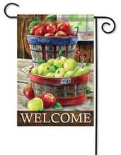 Outdoor Garden Flag Apple Harvest