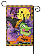 Outdoor Halloween Pretties Garden Flag