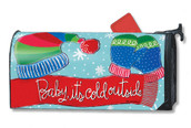 Mailwraps Baby It's Cold Magnetic Mailbox Cover