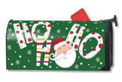 Mailwraps Santa Says Magnetic Mailbox Cover