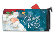 Mailwraps Santa Wishes Magnetic Mailbox Cover