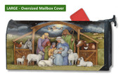 Mailwraps Holy Family LARGE Magnetic Mailbox Cover
