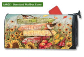 Mailwraps Signs of Fall LARGE Magnetic Mailbox Cover