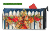 Mailwraps Autumn Gate LARGE Magnetic Mailbox Cover