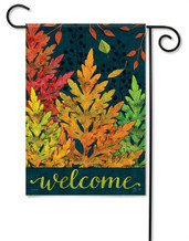 Autumn Forest Decorative Garden Flag