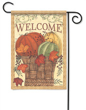 Harvest Basket Outdoor Garden Flag