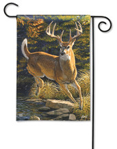 BreezeArt Outdoor Garden Flag Whitetail Buck