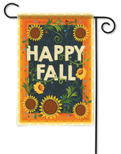 Happy Fall Decorative Garden Flag