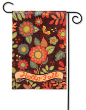 BreezeArt Outdoor Garden Flag Hello Fall