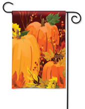 BreezeArt Outdoor Garden Flag Harvest Pumpkins