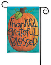 BreezeArt Outdoor Garden Flag Grateful