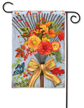 BreezeArt Outdoor Garden Flag Time to Rake