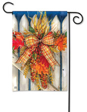 BreezeArt Outdoor Garden Flag Autumn Gate Garden