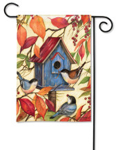 BreezeArt Outdoor Garden Flag Welcome Neighbors