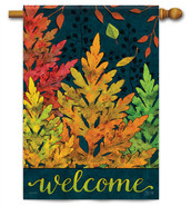 Autumn Forest Decorative House Flag