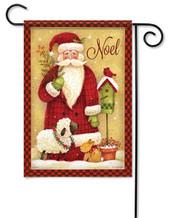 Noel Santa Christmas Decorative Garden Flag