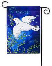 Peace on Earth Outdoor Garden Flag