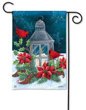 BreezeArt Cardinal Christmas Outdoor Garden Flag