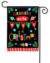 BreezeArt Magic of Christmas Outdoor Garden Flag