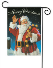 Merry Christmas Santa Decorative Garden Flag