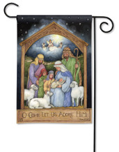 BreezeArt Holy Family Christmas Outdoor Garden Flag