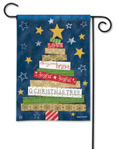 BreezeArt Songs of Christmas Outdoor Garden Flag