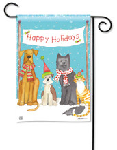 BreezeArt Pet Holiday Christmas Outdoor Garden Flag