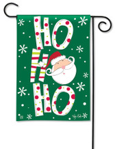 BreezeArt Santa Says Christmas Outdoor Garden Flag