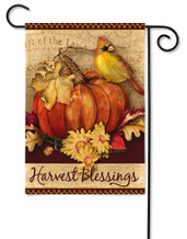 Pumpkins Harvest Outdoor Garden Flag