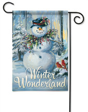Winter Wonderland Decorative Garden Flag