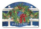 Winter Wreath Winter Yard Sign
