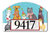 Pet Holiday Home Address Sign