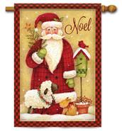 Noel Santa Christmas Decorative House Flag