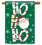 BreezeArt Santa Says Christmas Outdoor House Flag