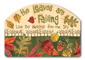 Fall Yard Sign Tiny Blessings