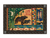 MatMates Doormat Livin Lodge