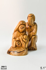 Hugging Holy family (abstract)