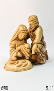 Hugging Holy family